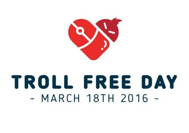 troll free day logo