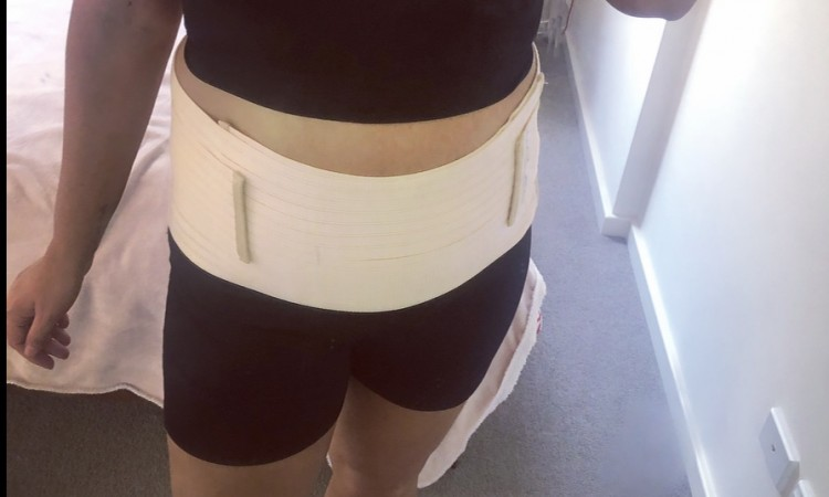 Belly Band on Mel 1